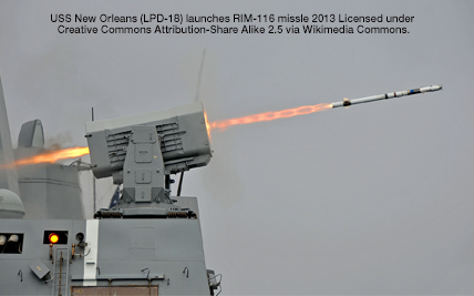 USS_New_Orleans_(LPD-18)_launches_RIM-116_missile_2013-5